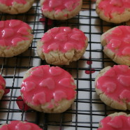 Almond Cookies for V-Day….or any day!