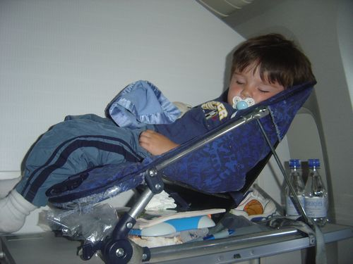 Car Seat On Airplane: International Travel With Children