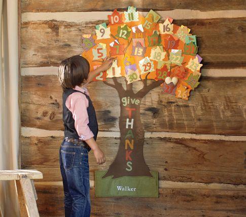 Make A Quot Give Thanks Quot November Countdown Calendar