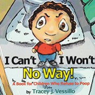 Books for Kids & Giveaway: I Can't, I Won't, No Way! by Tracey J. Vessillo