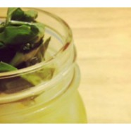 Spiked Ice Tea {Basil Infused Vodka, Anyone?}
