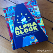 """Alphablock"" by Christopher Franceschelli, the BEST new ABC board book!"