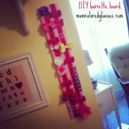 DIY Barrette Board