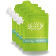 Little Green Pouch {A reusable food pouch review!}