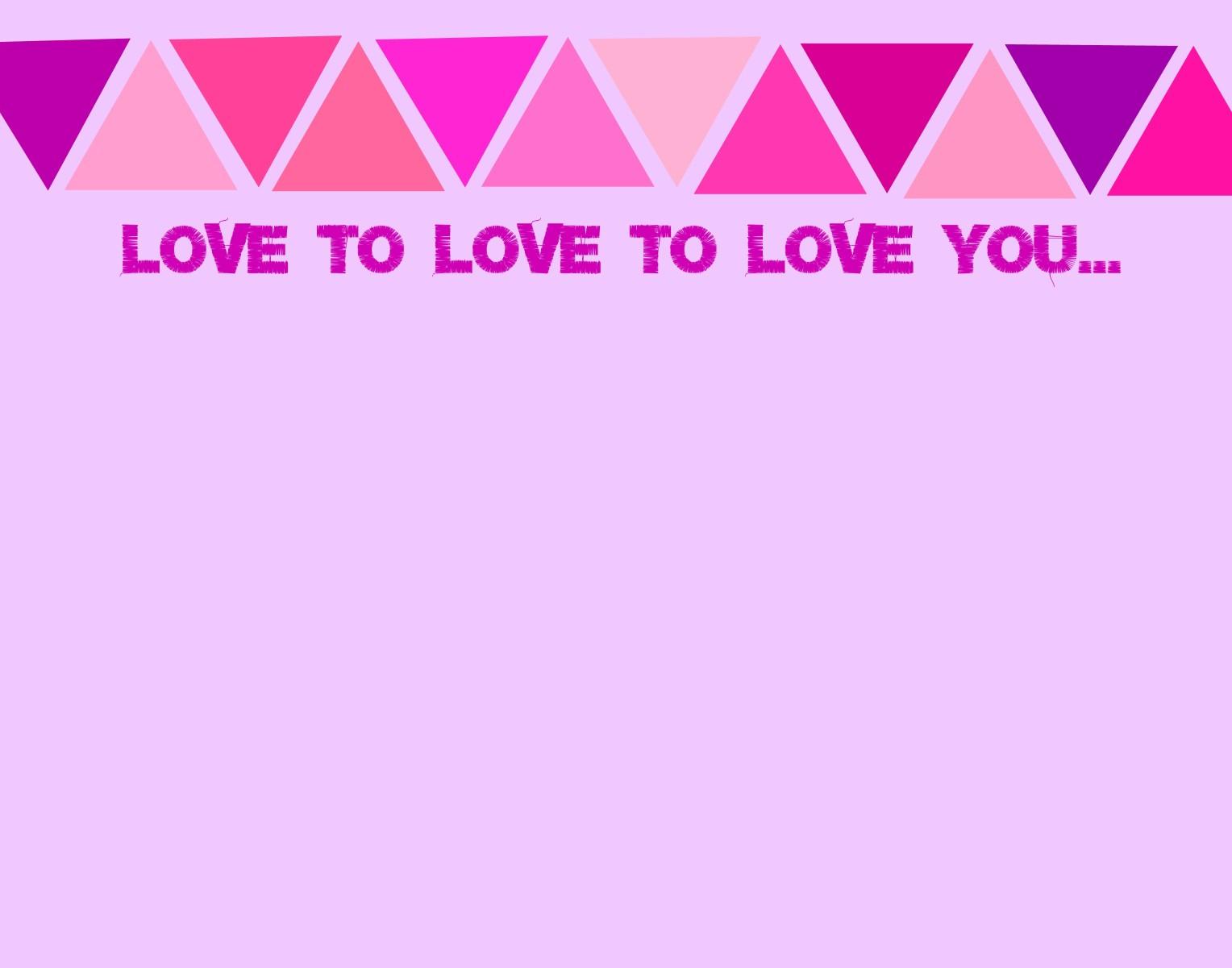 Valentine Place Mat #8